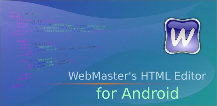 WebMaster S HTML Editor Lite Edytor HTML Na Androida